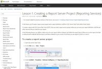 Visual Studio Reporting When You Absolutelynoexcuses Have To pertaining to Business Intelligence Templates For Visual Studio 2010