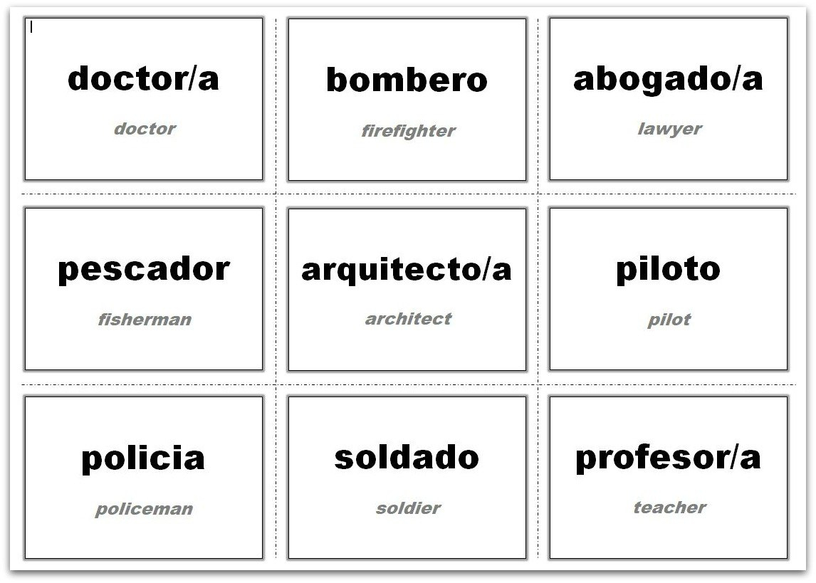 Vocabulary Flash Cards Using Ms Word Inside Word Cue Card Template