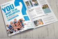 Volunteer Flyers  Ms Word Pages Psd Vector Eps  Free within Volunteer Brochure Template