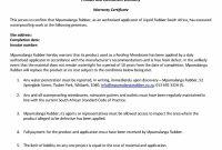 Warranty Agreement Template  Lobo Black throughout Product Warranty Agreement Template