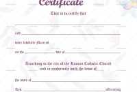 Water Colours Wedding Certificate Template Ideas with regard to Certificate Of Marriage Template