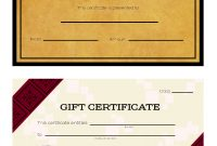 Ways To Make Your Own Printable Certificate  Wikihow pertaining to Automotive Gift Certificate Template