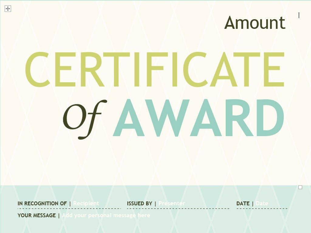 Ways To Make Your Own Printable Certificate  Wikihow With Regard To Borderless Certificate Templates