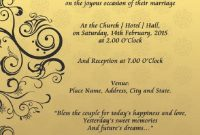 Wedding Invitation Cover Design Templates  Party Invitation Card In with regard to Indian Wedding Cards Design Templates