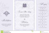 Wedding Invitation Stock Vector Illustration Of Card intended for Free E Wedding Invitation Card Templates
