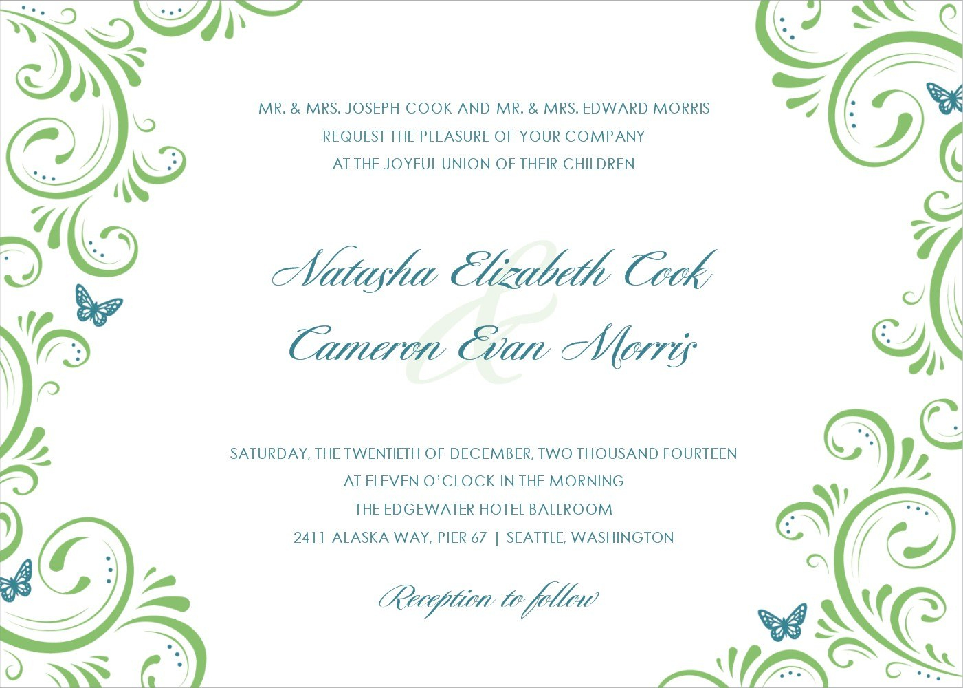 Wedding Invitation Templates Images  Free Wedding Invitation With Regard To Free E Wedding Invitation Card Templates