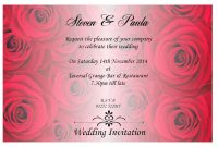 Wedding Invitation Templates  Wedding Invitation Design Quotes throughout Invitation Cards Templates For Marriage