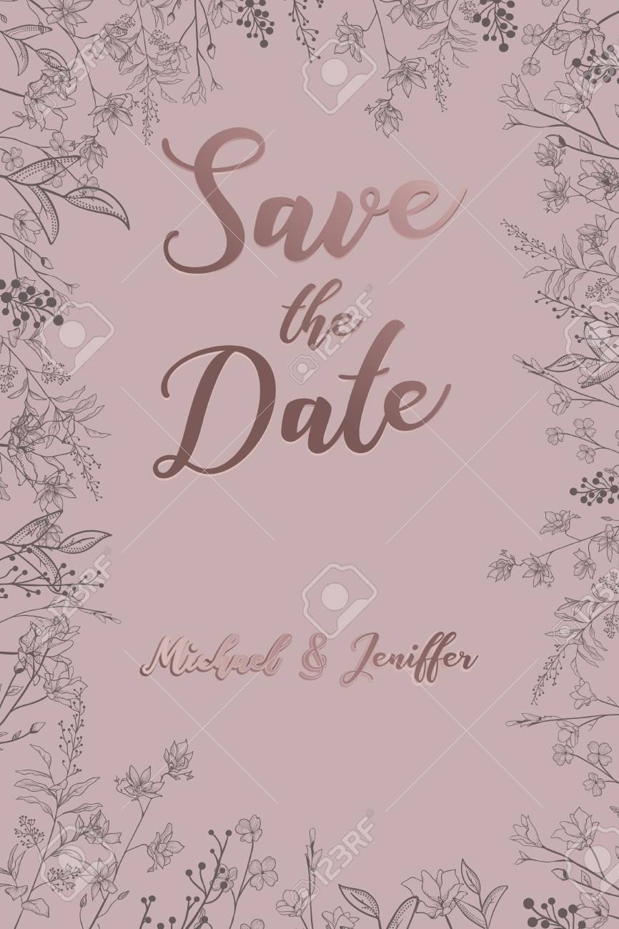 Wedding Invitation Thank You Card Save The Date Card Wedding Pertaining To Baby Shower Menu Template