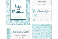 Wedding Invitation Thank You Save The Date Baby Shower Menu for Baby Shower Menu Template