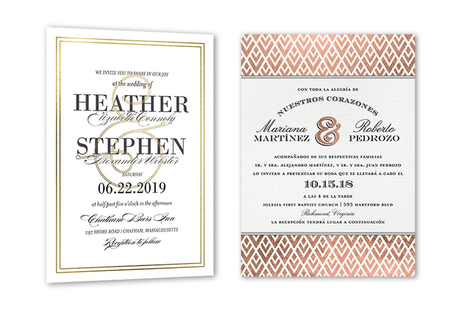 Wedding Invitation Wording Examples   Shutterfly Inside Church Wedding Invitation Card Template