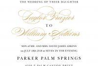 Wedding Invitation Wording Samples with Sample Wedding Invitation Cards Templates
