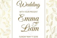 Wedding Marriage Event Invitation Rsvp Card Template Swirly with regard to Template For Rsvp Cards For Wedding