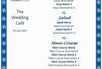 Wedding Menu Templates Free Microsoft Word Click Here For A Free regarding Free Wedding Menu Template For Word