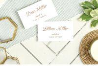 Wedding Place Card Template Printable Escort Cards Pretty Script regarding Printable Escort Cards Template