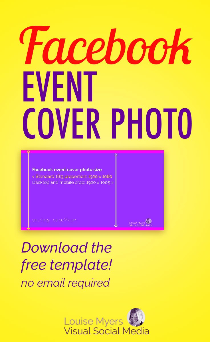 What's The Correct Facebook Event Image Size  Update In Event Banner Template