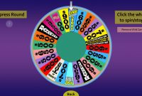 Wheel Of Fortune For Powerpoint  Gamestim In Wheel Of Fortune Powerpoint Game Show Templates
