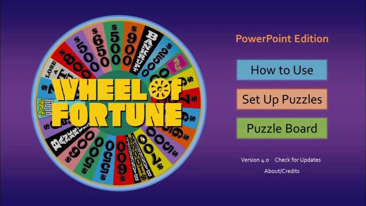 Wheel Of Fortune For Powerpoint  Gamestim Pertaining To Wheel Of Fortune Powerpoint Template