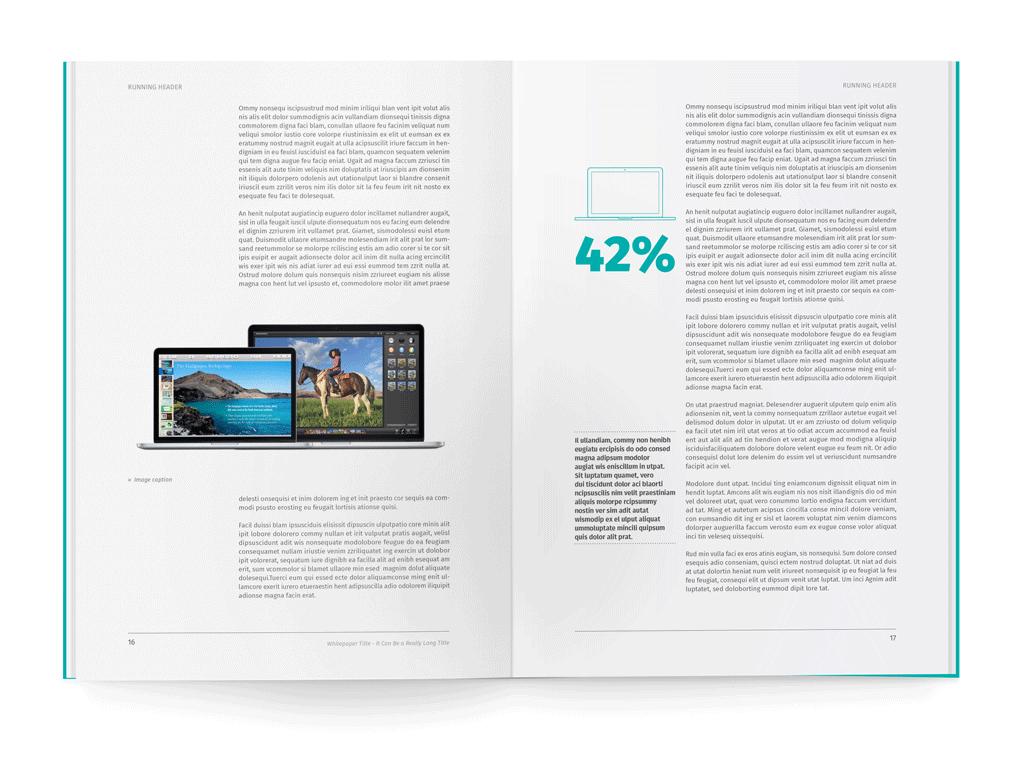 Whiteco  White Paper  Proposal  Report Layout White Paper Paper Throughout White Paper Report Template