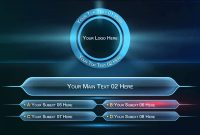 Who Wants To Be A Millionaire Powerpoint Game Template  Mandegar inside Who Wants To Be A Millionaire Powerpoint Template