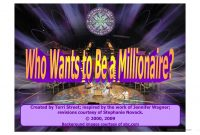 Who Wants To Be Millionaire Powerpoint Game Template Worksheet inside Who Wants To Be A Millionaire Powerpoint Template