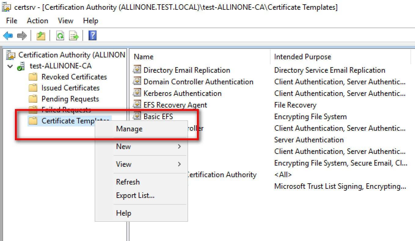 Windows  Ca Auto Enrollment Einrichten  Andreas Mariotti Pertaining To Domain Controller Certificate Template