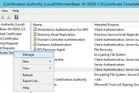 Windows  R Nps With Eaptls Authentication For Os X  Mobile throughout Workstation Authentication Certificate Template