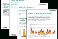 Windows Vulnerability Summary Report  Sc Report Template  Tenable® throughout Nessus Report Templates