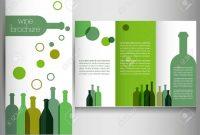 Wine Brochure Design Template Vector Royalty Free Cliparts Vectors with regard to Wine Brochure Template