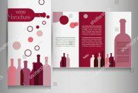 Wine Brochure Template Free Pinbashooka Web Graphic Design On with regard to Wine Brochure Template