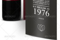 Wine Brochure Templates From Graphicriver pertaining to Wine Brochure Template