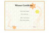 Winnercertificatetemplatehelloalivewinnercertificatetemplate Pdf pertaining to Winner Certificate Template