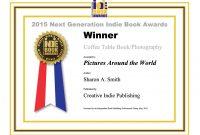 Winning Certificate Template Word  Certificatetemplateword regarding Winner Certificate Template