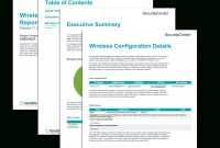 Wireless Configuration Report  Sc Report Template  Tenable® intended for It Support Report Template