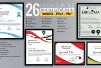 Word Certificate Template   Free Download Samples Examples with Certificate Of Excellence Template Word