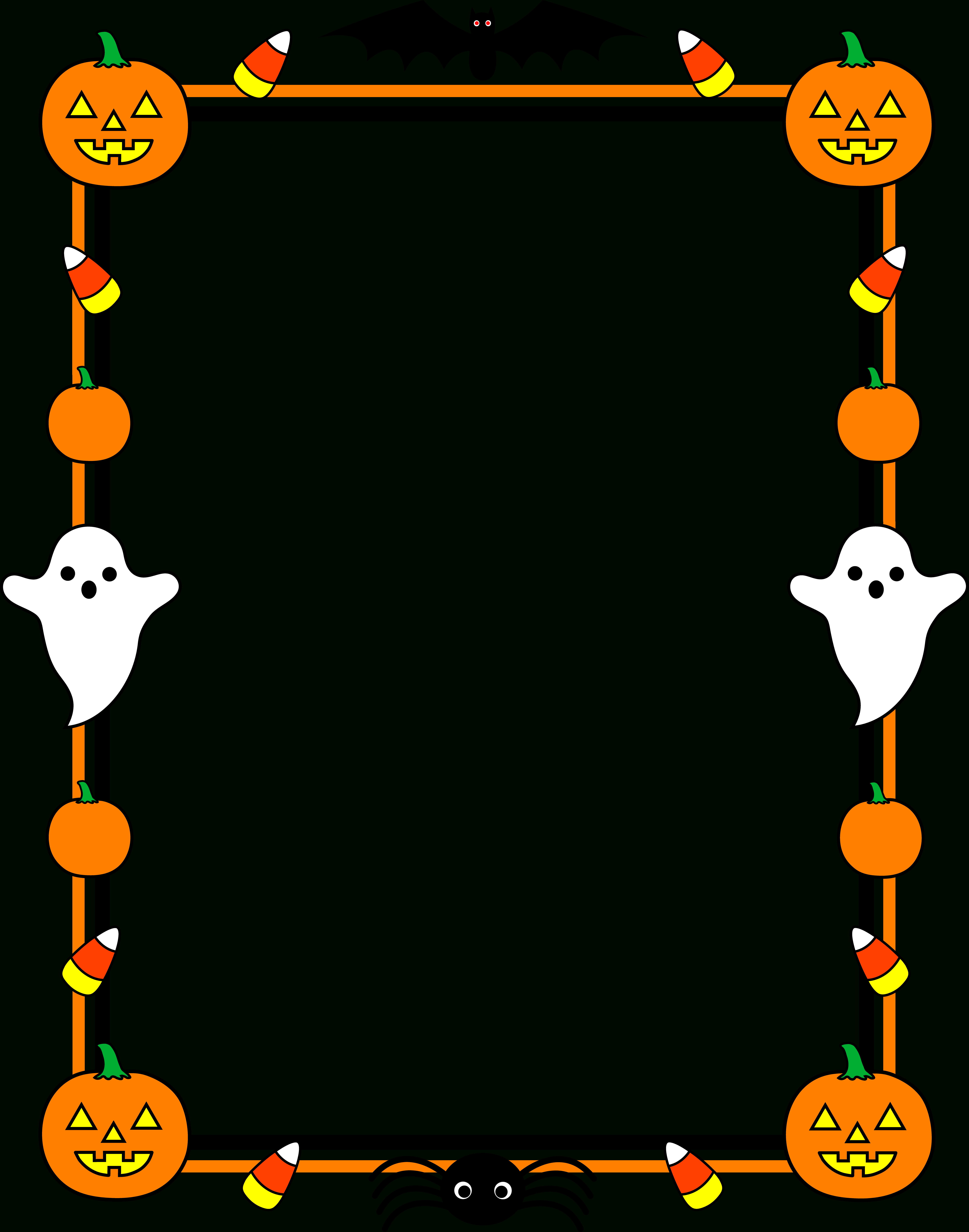 Word Document Borders  Free Download Best Word Document Borders On Intended For Free Halloween Templates For Word