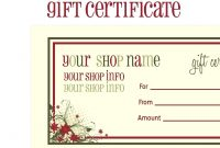 Word Gift Certificate Templates Giftate Template Free Image intended for Microsoft Gift Certificate Template Free Word