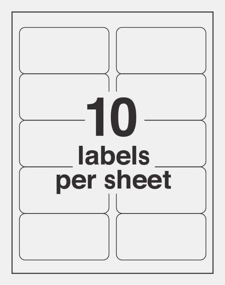 Word Label Template  Per Sheet – Southbay Robot – Label Template Pertaining To Word Label Template 12 Per Sheet
