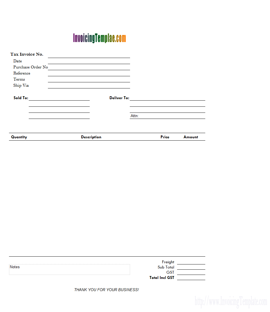Word Rent Invoice Template With Sample Invoice Template Word