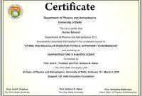 Workshop Certificate Sample  Garajcmic pertaining to Workshop Certificate Template