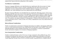 Wppsiiv Interpretive Report Sample intended for Wppsi Iv Report Template