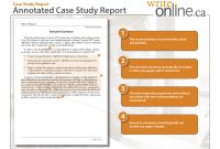 Write Online Case Study Report Writing Guide  Resources for Template On How To Write A Report
