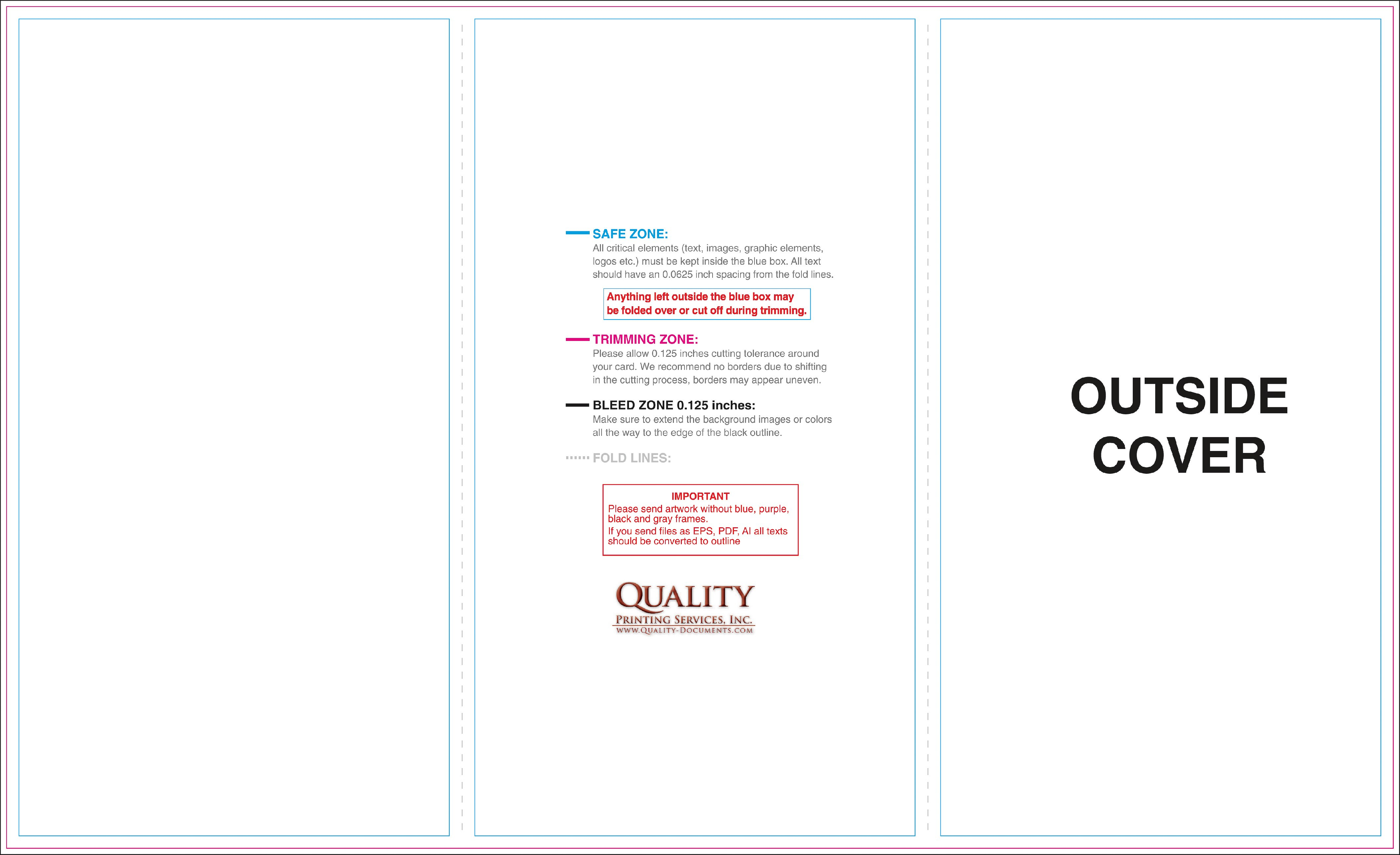 X Brochure Templates Intended For 8.5 X11 Brochure Template