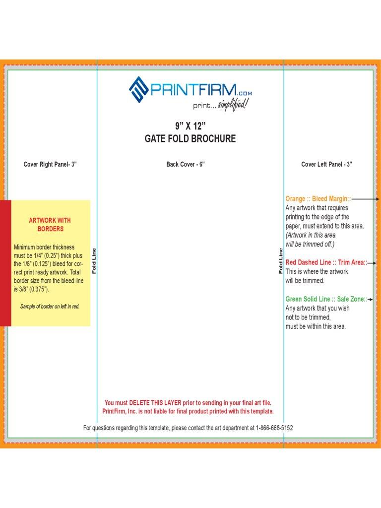 X Gate Fold Brochure Template Good X Incredible Ideas Intended For Gate Fold Brochure Template