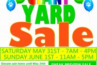 Yard Sale Flyer Template Free Ideas Word Beautiful Flyers Great pertaining to Yard Sale Flyer Template Word