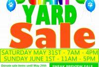 Yard Sale Flyer Template Free Ideas Word Beautiful Flyers Great with Yard Sale Flyer Template Word