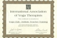 Yoga Alliance Teacher Training Certificate Template Learn About Yoga within Walking Certificate Templates