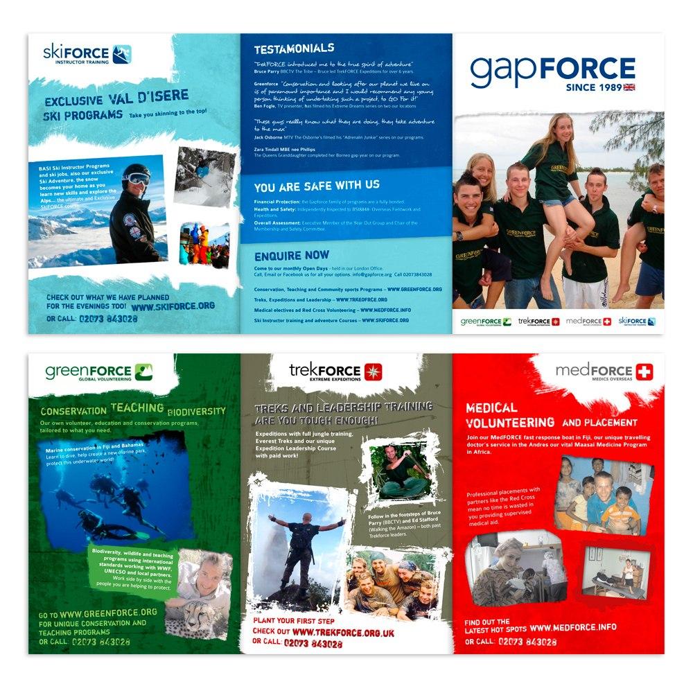 Young Gap Year Global Volunteer A Flyer Needed   Brochure Designs Throughout Volunteer Brochure Template