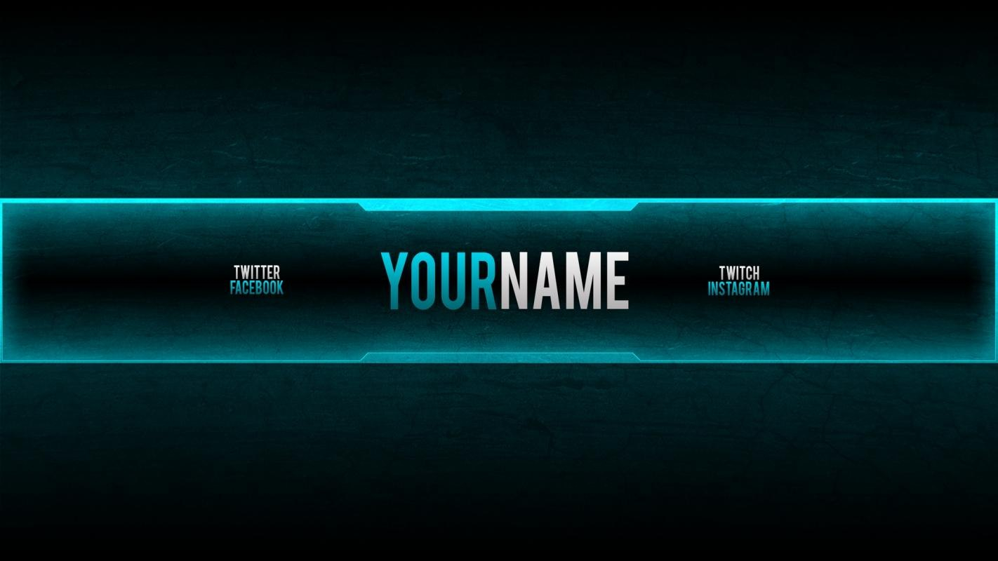 Youtube Banners ×  Template Business Pertaining To Yt Banner Template