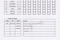 Zack Hample's Lineup Cards — Zack Hample for Dugout Lineup Card Template