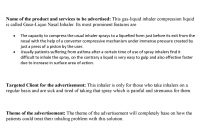 Advertising Proposal Sample inside Advertising Proposal Template